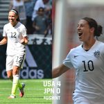 .@laurenholiday12 made it 3-0 with a stunner. And then 2 minutes later @CarliLloyd makes it 4 from the halfway line! http://t.co/kTcRpnXK7F