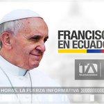 RT @johannacanizare: @teleamazonasec transmite en vivo la llegada de su santidad @Pontifex_es al Ecuador. http://t.co/fajfhFT2GS