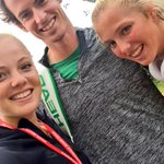 Loving this selfie by @Katieswan99 with @andy_murray and @alicol27 at Aorangi today. @BritishTennis http://t.co/3bG0HTsUEU