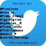 "I vote @IggieIggies ""@140_Awards: Sexiest avi nominees #TwitterAwardsNominees15 http://t.co/CuIawi97tO"""