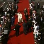 Papa irá por la #RutaViva hasta el Monte Olivo, allí cambiará de auto para dirigirse a la Nunciatura #FranciscoEnEC http://t.co/b2qL5uOjMJ