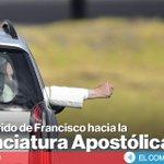 Sigue el recorrido que hará el Papa hacia la Nunciatura Apostólica » http://t.co/y0usIqbLc3 #FranciscoEnEcuador http://t.co/q3LdPCLAcp