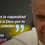 #LaFrase   @Pontifex_es: Nunca pierdan la capacidad de dar gracias a Dios #FranciscoEnEcuador http://t.co/YGfQLA6xez http://t.co/sDOqWYMa8m