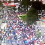 Ciudadanía a la expectativa de arribo @Pontifex_es a Nunciatura. #ECU911 #Quito apoya con videovigilancia http://t.co/VAh47gFvVH