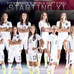 The #USWNT starting XI for the @FIFAWWC Final! #OneMore http://t.co/9yzi1GfVGq