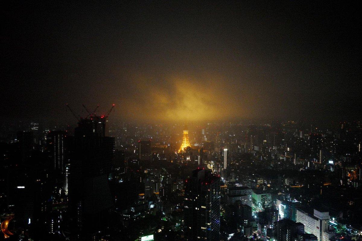 煙る東京 Misty City http://t.co/EjFAkiopPo