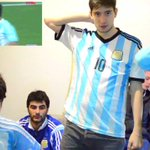 [Video] Un grupo de hinchas argentinos no pueden creer la derrota ante #Chile http://t.co/F6ON4hvaTe http://t.co/pTCc6bXYOm