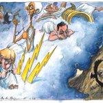 Martin Rowson on the Greek referendum – cartoon http://t.co/0FNkymR1VQ http://t.co/WZcKSsk1zb