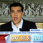 Greek Prime Minister Alexis Tsipras says No vote does not mean break with Europe http://t.co/AbbhMVquT4 http://t.co/8I04vriIT5