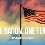 """Good luck to the U.S. Women's National Team in the World Cup Final!"" —President Obama #SheBelieves http://t.co/UlONxdmVjl"