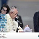 #FranciscoenEcuador -> Así fue el primer discurso del #PapaFranciscoEnEcuador: http://t.co/hJcQruJgLd http://t.co/7Rdnx24Eag