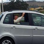 #PapaFranciscoEnEcuador @DonBoscoLaTolax El paso de Papa Francisco por Tumbaco http://t.co/CrTZN995ly
