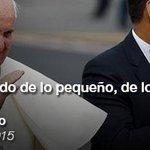 ¡Bienvenido! Increíble recibimiento en #Quito #Ecuador #ElPapaenEcuador #FranciscoEnEcuador @Pontifex_es @MashiRafael http://t.co/XkSBBxxB6L
