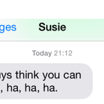 Williams Susie Wolff sent this message to Mercedes after their fake pit stop. http://t.co/vBkXbqTe3X #BritishGP http://t.co/clxbQJVtUH