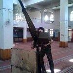 """العراق : مضاد للطائرات لـ""""داعش"""" يطلق النار من داخل احد المساجد في الفلوجة . http://t.co/cH3Rijb6YI"""