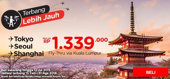 Pesan sekarang hingga 12 Juli 2015 dan terbang 15 Feb - 31 Ags 2016. Pesannya di