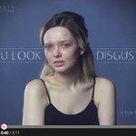 【動画】素顔を晒し「キモい」と言われたブロガーが真の美について制作した動画が話題に http://t.co/ZeYUkgEQS7 公開5日間で再生回数600万回を突破 http://t.co/DpYQEruqeb