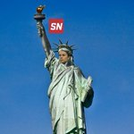 New statue dedicated to Carli Lloyd. http://t.co/lI3J1FgvLw