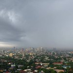 Heres a photo of the rain in Metro Manila by Zarina San Jose #EgayPH Hows the weather in your area? Keep safe! http://t.co/iyR0FVDd6D