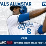 Congrats to OF Lorenzo Cain, selected to his first #ASG and will start in the AL outfield! #Royals http://t.co/78POCjUObW