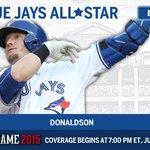 Josh Donaldson (@BringerOfRain20) voted as starting third baseman for the AL All-Star team. #ASG http://t.co/gldUsjlq7T