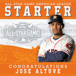 #YesWayJose! @JoseAltuve27 is the starting 2B for the AL All-Star Team. Congrats, Jose! #ASG #HTownPride #Astros http://t.co/5sWAM6cCe7