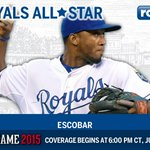 #Royals SS @alcidesescobar2 will make his first #ASG earning the starting nod! Felicidades! http://t.co/6Z85Wnyzx1