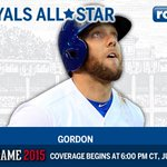 Congratulations to OF Alex Gordon, named an #ASG starter for the first time in his career! #Royals http://t.co/v0UtVuO0Fm