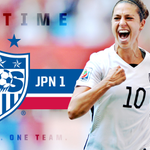 Halftime in Vancouver and its #USWNT 4, Japan 1... Hat trick from @CarliLloyd and a goal from @laurenholiday12!!! http://t.co/7g8FSAilAB