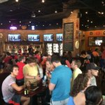@richarddeitsch full house at World of Beer on South U in Ann Arbor, Mi. #USWNT #WOB http://t.co/4l7syMdBps