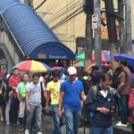Lines also long at the LRT Roosevelt Station. (Photos via @JohnsonDZMM) http://t.co/FpG5IeLGkd