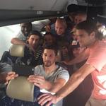 The @ussoccer mens team part of the millions glued to the #USAvJPN final: http://t.co/K4dZlPQtij (via @JozyAltidore) http://t.co/BzaHOmHd5z
