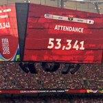 53K+ fans at the #FIFAWWCFinal Coach Kat challenges the Bobcats to show an attendance of 5K at our 2015 home opener! http://t.co/EtK3cJOJCZ
