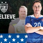 Thats Bills fan and Rochesters own @AbbyWambach in for the @ussoccer_wnt. #Believe #Billieve #OneMore http://t.co/n1IFtQnsGw