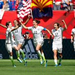 The USA have won the FIFA Womens World Cup after beating Japan 5-2 in the final! http://t.co/K0TK2Qpcs2