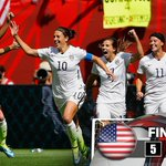 PARTY LIKE ITS 1999! THE #USA ARE WORLD CUP CHAMPIONS FOR THE THIRD TIME! #FWWConFOX #USAvJPN http://t.co/ic2avDdMLT