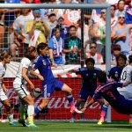 """United States beats Japan 5-2 to win 2015 Womens World Cup. #USA #USAvJPN http://t.co/OsnA9SuPcu http://t.co/cn5I1vfruj"" via @wxyzdetroit"