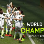 Congratulations to the @ussoccer_wnt, #FIFAWWC2015 Champions! #USWNT #Believe http://t.co/PBf5CrDFCr