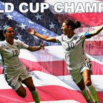 USA WINS THE WORLD CUP! Carli Lloyds first-half hat trick leads #USWNT over Japan in World Cup final, 5-2. http://t.co/V38OeBUIz5