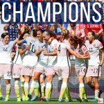 The #USWNT beats Japan 5-2 to win the 2015 Womens World Cup! #WorldChamps http://t.co/yxi7hOaTOo