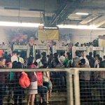 LRT Monumento Station also congested. (Photos via @JohnsonDZMM) http://t.co/hiqVY5yiu0