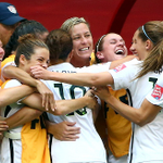 In what was the highest scoring match in #FIFAWWC history #USA beat #JPN 5-2. Full story: http://t.co/eNSjST5Wee http://t.co/5x1DWycAGc
