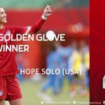 AWARDS: The @adidas Golden Glove goes to @hopesolo of #USA. http://t.co/fpMHugIDkc