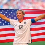 Congratulations to @AbbyWambach on ending her career as a World Champion! (via @SportsCenter) http://t.co/GIuAMTRNBz
