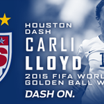 Best player in the World Cup. OUR Carli Lloyd. #USA #DashOn http://t.co/cHrDO2jUml