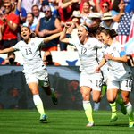 1991. 1999. 2015. United States is 1st country to ever win 3 Womens World Cup titles. http://t.co/FTDD3AT87N