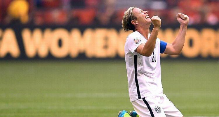 Amazing career @AbbyWambach! #USWNT http://t.co/ACmaW3Mxjd