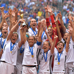 WE ... together #USWNT23 and #BestFansInTheWorld are World Cup Champions. #OneNationOneTeam http://t.co/6pa6V4FdgG