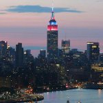 On July 4th weekend, the @ussoccer_wnt wins the #FIFAWWC and Empire State Building shines red, white and blue! #USA http://t.co/F8gzJWnVNG