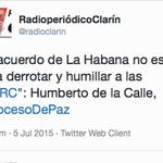 Que le quede CLARO a quienes votaron por la PAZ de SANTOS. OJO! NO es cuento URIBISTA! @WRadioColombia @LAFmNoticias http://t.co/EQo7d2XIfL